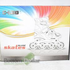 C-Luo Girl's Adjustable Inline Skates Pink (M35-38)
