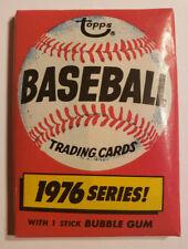 1976 topps baseball wax pack