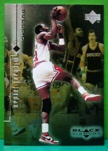 Michael Jordan regular card 1998-99 Upper Deck Black Diamond #1