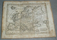Antique Europe Map Prussia Ottoman Russian Empire Baldwin Cradock & Joy c. 1820