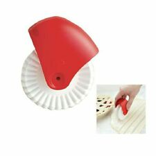 Pizza Pastry Lattice Cutter Pastry Pie Decor Cutter Plastic Wheel Roller Kitchen
