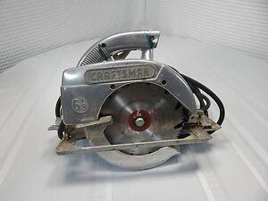 "1962 Craftsman 6""1/2 Electric Hand Saw Model 336.27963"