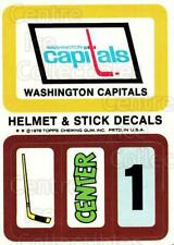 1978-79 Topps Team Inserts #17 Washington Capitals