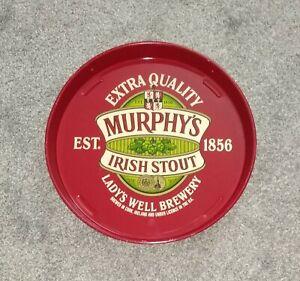 FABULOUS MURPHY'S IRISH STOUT - LADY'S WELL BREWERY METAL PUB SERVING TRAY!