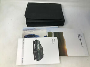 2014 Subaru Legacy Outback Owners Manual Handbook with Case OEM Z0A1284