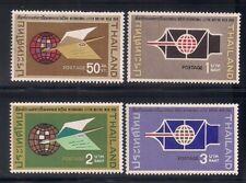 Thailand 1968 Sc # 518-21 Vlh Xf (48440)