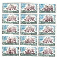 YVERT N° 1774 x 15 VOILIER TIMBRES FRANCE NEUFS**