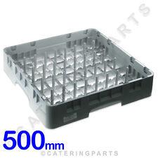 CAMBRO 500mm X 500mm x 100mm di alta qualità dish-washer pegging Plate Rack Grigio