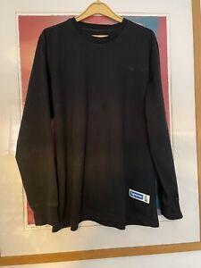 Supreme Long Sleeve Top - Black - Large