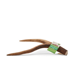 WAG WHOLE DEER ANTLER  Dog Treats Small and Large Size WAG
