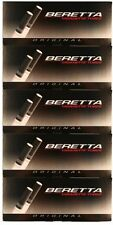 NEW Beretta Original King Cigarette Tubes 200ct Carton 5 Pack FREE SHIPPING