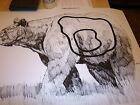 "FIFTEEN HUGE BEAR  Big Game Animal ARCHERY Targets with kill zones 28X40"" 70LB"