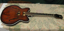 Vintage 1967 Gretsch Chet Atkins Country Gentleman Guitar Body Neck - USA
