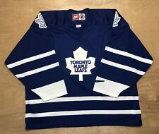 Toronto Maple Leafs Jersey Team Nike NHL Hockey Blue Canada Size XL
