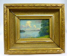 dipinto Frame Circa 1900 LAGO