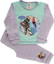 Pijamas y batas de niña de 2 a 16 años conjuntos de color principal morado