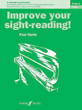 Improve Your Sight-Reading! Piano: Grade 2 by Paul Harris