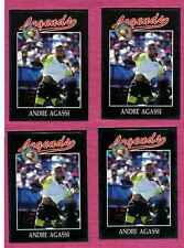 Andre Agassi Legends (1991) Cards 4 Card Lot *On sale* S-61