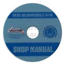 1936 Oldsmobile 6 and 8 Repair CD Shop Manual Repair Service 36