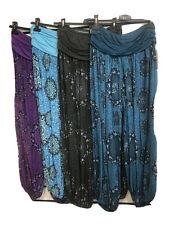 Thai Womens Boho Yoga Pants Harem Trousers Baggy Hippie Hippy Casual Palazzo