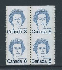 Canada #604iv #604vi PRx2 With Trace of Scoreline Variety MNH **Free Shipping**