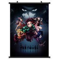 "Hot Anime Kimetsu no Yaiba Kamado Art Home decor Poster Wall Scroll 8""x12"" F320"