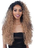 """FREETRESS EQUAL LACE & LACE 6"""" PART LACE FRONT LONG CURLY HAIR WIG MAJOR"""
