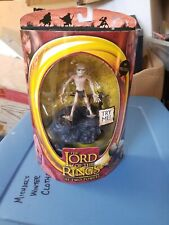 Lord Of The Rings Gollum Action Figure With Sound Base Brand New My Precious