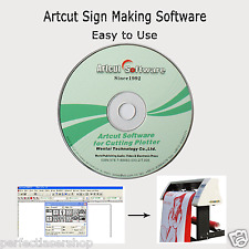 Artcut 2009 Sign Making Software 9 Languages for Vinyl Cutter Cutting Plotter
