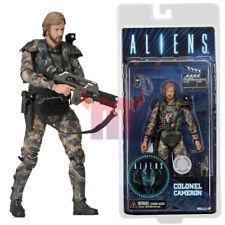 """NECA Aliens Director James Cameron Colonel Colonial Marine 7"""" Figure Alien NIB"""