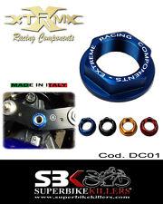 Lenkkopfmutter,EXTREME, Yamaha R1 RN01 RN04 RN09 RN12 RN19 RN22,RN32 Blau  DC01
