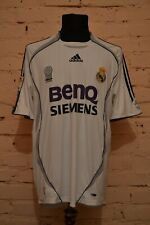 VINTAGE REAL MADRID 2006/2007 HOME FOOTBALL SOCCER SHIRT JERSEY CAMISETA SPAIN