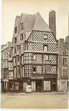 """France, Bourges. """"A la Mère de Famille"""" Vintage albumen print.  Tirage albumin"""
