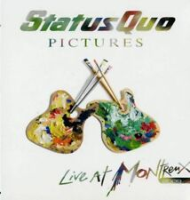 Statu quo-Live at Montreux 2009 CD neuf emballage d'origine