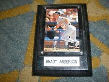 BRADY ANDERSON FLEER 1996 WALL HANGING/PLAQUE    T