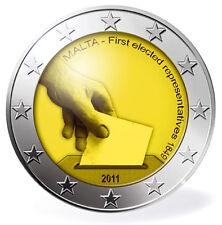 2 EURO Malta 2011 - Elezioni dei Rappresentanti 1849