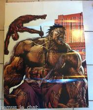 Comics Français  MARVEL FRANCE   POSTER méga poster 2006  N° 2  hulk / daredevil