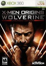 XBOX 360 X MEN ORIGINS WOLVERINE UNCAGED EDITION BRAND NEW VIDEO GAME