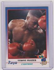 (100) 1991 KAYO TYRONE FRAZIER BOXING CARDS #161 ~ PHILADELPHIA PA ~ BIG LOT!!!