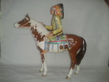 RARE BESWICK - MOUNTED INDIAN - MODEL NO.1391