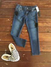 NWT Girls Joe 's jeans the icon mid rise skinny ankle in dark wash size 10.