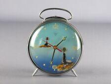 1960 Diamond China Vintage Curieux Pendule Phoque Boule Dynamique Réveil