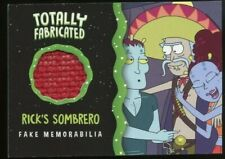 2019 Cryptozoic Rick and Morty Season 2 Totally Fabricated TF09 -RICK'S SOMBRERO