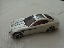 1/64 HOT WHEELS - CLASSIC FERRARI 612 SCAGLIETTI WHITE DIECAST CAR