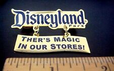 "DISNEY DISNEYLAND PARK ""Ther's Magic in Our Stores"" Taiwan Pin   (Error Pin)"