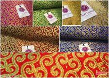 Brocade Floral Craft Fabrics