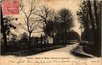 CPA   Tournan- Route de Melun, Avenue de Combreux (436532)