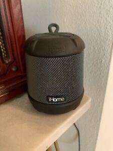 iHome - iBT155 Waterproof Portable Bluetooth Speaker - Black