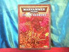 2007 Chaos Daemons Codex for Warhammer 40k by Games Workshop   demons