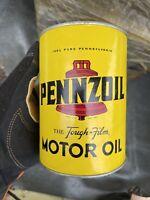 A1009 PENNZOIL MOTOR OIL VINYL STICKER